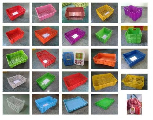 تولید و فروش انواع سبد های پلاستیکی و پالت