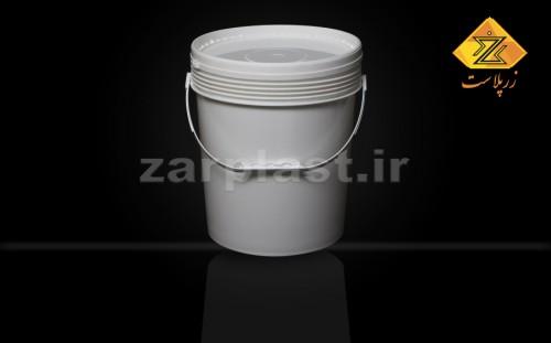 تولیدکننده سطل گرد ۲۰ کیلویی صنعتی درب دار