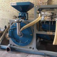 پودر کن پولورایزر (Pulverizer ) مناسب برای پودر کردن مواد پلی اتلین