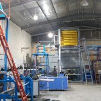 دستگاه تولید نایلون عرض ۱/۵ متری