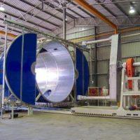 فروش ماشین آلات تولید مخازن پلی اتیلنی Rotomolding