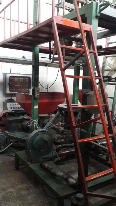 دستگاه تولید نایلکس دورنگ