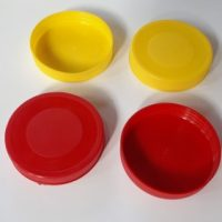فروش درب پلاستیکی  جار دهانه ۸۸ و ۹۰