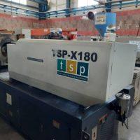 فروش دستگاه تزریق پلاستیک ۱۸۰ تنTSP