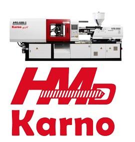 تزریق پلاستیک برند کارنو HMD / از۶۰ تا ۱۴۵۰ تن
