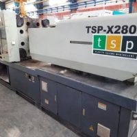 فروش دستگاه تزریق پلاستیک ۲۸۰ تن TSP