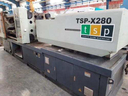 دستگاه تزریق پلاستیک ۲۸۰ تن TSP