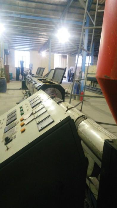 فروش دستگاه خط تولید لوله پلی اتیلن قیمت توافقی
