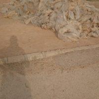 فروش نایلون کشاورزی به صورت زنده مصرف شده برای آسیاب شور