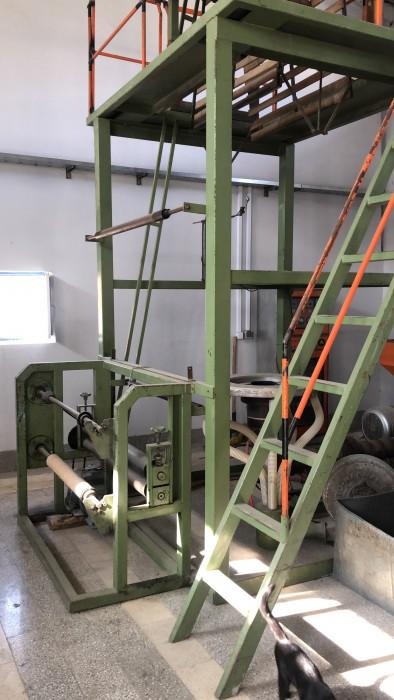 دستگاه تولید نایلون عریض ( کیسه زباله ، گلخانه ای و ...)