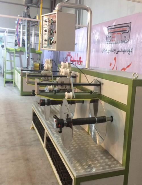 فروش خط تولید نوار آبیاری قطره ای نو- کارکرده