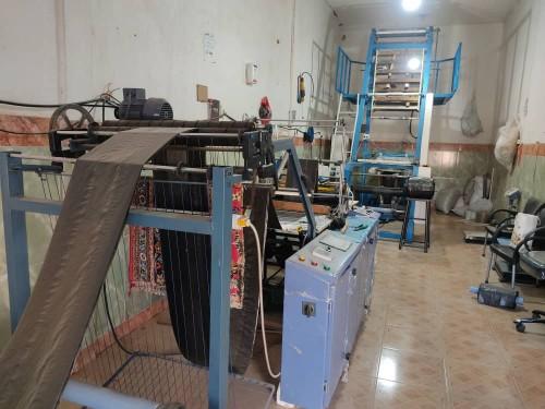 فروش یک مجموعه کامل تولید نایلون نایلکس ایرانی