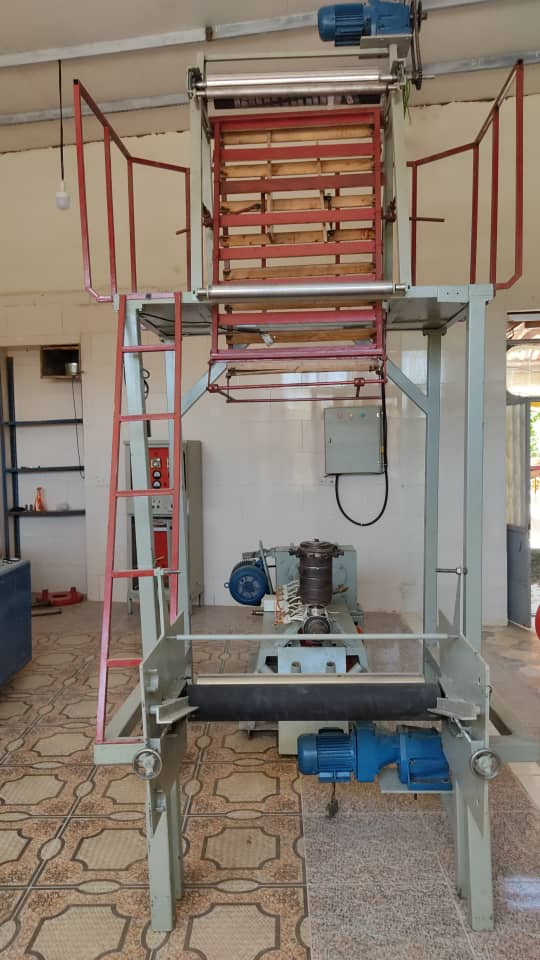 دستگاه خط تولید با خط دوخت نایلون و نایلکس ایرانی
