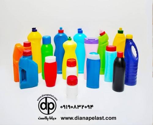 انواع بطری مایع ظرفشویی و بطری شوینده