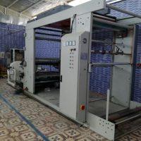 فروش یک دستگاه چاپ ۲رنگ درحدصفر۱هفته کارکردساخت شرکت رنگین مشهدعرض۱۴۵
