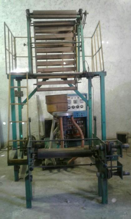 دستگاه تولید نایلون عرض ۸۰ کارکرده