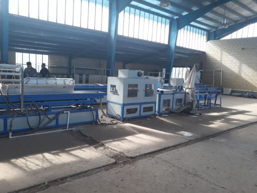 فروش خط تولید پنل چوب پلاست