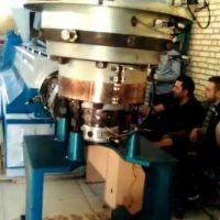 دستگاه تولید نایلون عریض ۶ متری
