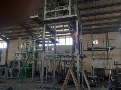 ساخت و تعمیر دستگاه های تولید نایلون دوخت چاپ