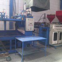 خط تولید دستگاه ظزوف یکبار مصرف PS( نیمه فرمینگ)