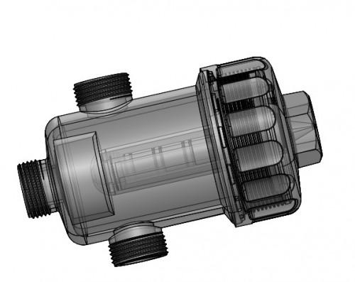 فروش قالب تزریق پلاستیک فیلتر مغناطیسی (مخصوص پکیج های حرارتی