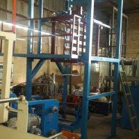 فروش دستگاه تولید نایلون و نایلکس ۸۰ ساخت باقری