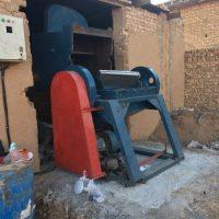آسیاب دهنه ۸۰ سنگین ساخت + لوازم یدکی