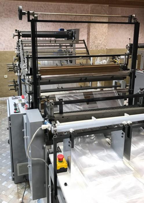 خط تولید دستگاه نایلون و نایلکس دسته دار